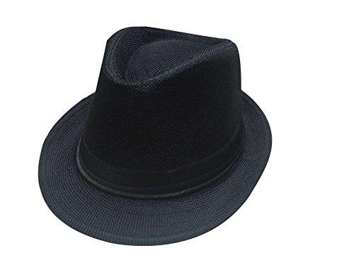 Luck Homme Femme Fille Unisexe Hat Cap Trilby Ete Pour
