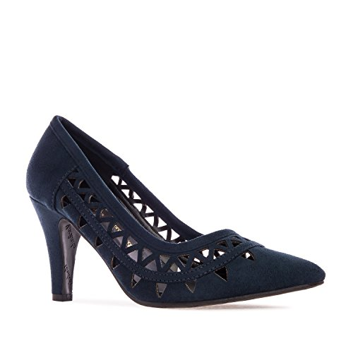 Dimensioni 35 32 petites chaussures Suèdine Blu Grandi E am5183 Andrés 45 Machado 42 Traforati g1qvn8w