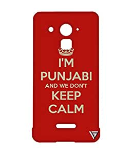 Vogueshell I Am Punjabi Printed Symmetry PRO Series Hard Back Case for Coolpad Note 3 Lite