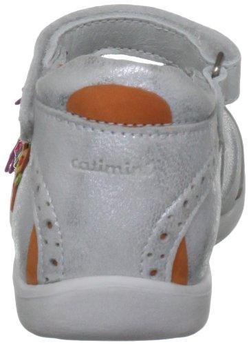 Catimini A24-canari, Ballerines fille Multicolore - Argent/Multicolored