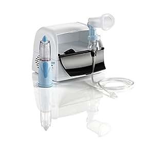NEBULA Sistema integrato per aerosolterapia con Rinowash doccia nasale