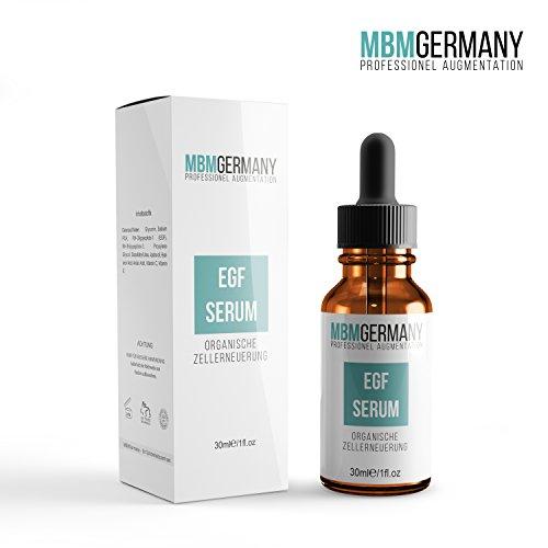 EGF SERUM ' Organische Zellerneuerung Akne + Narben + Hyaluronsäure | MBMGermany das Original