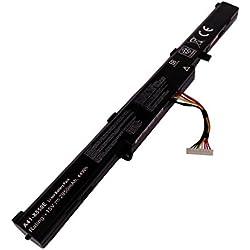 Golem-power A41-X550E 14.4V 2950mAh Batterie de rechange du ordinateur portable compatible avec ASUS X751M A450J X450J K550E K751 X751 R752 F550Z