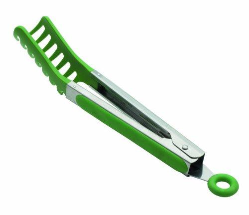 Lacor 62969 - Pinza per spaghetti in nylon, 22 cm, colore: Verde