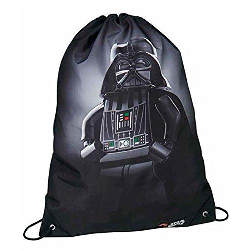 Lego Core Line Star Wars Darth Vader Bolsa de Cuerdas para El Gimnasio, 39 cm, 7 litros, Negro