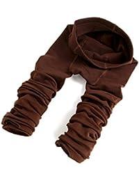 Vococal® Femmes Mesdames automne chaud hiver épais brossé neuvième extensible thermique doublée longueur Leggings pantalon
