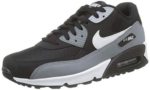 Nike Herren Men's Air Max '90 Essential Shoe Gymnastikschuhe, Schwarz (Black/White/Cool Grey/Anthracite 018), 44.5 EU (Air Max 90 Schwarz Männer)