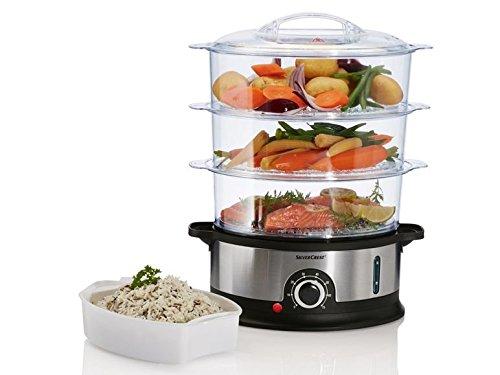 SilverCrest Kitchen Tools Dampfgarer Küche SDG 800 B2