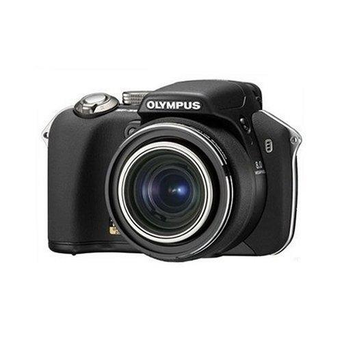 Olympus SP-560UZ Digitalkamera (8 Megapixel, 18-fach opt. Zoom, 6,4 cm (2,5 Zoll) Display, Bildstabilisator)