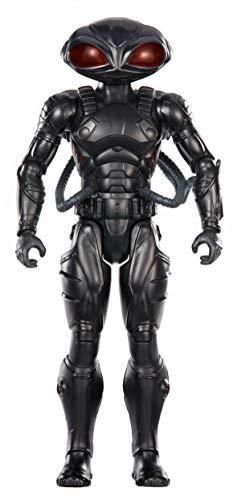 Justice League Figure Black Blanket, 30 cm (Mattel FXF93)