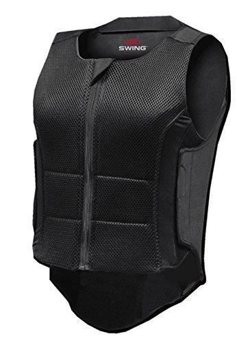 Rückenprotector Swing P07 mit optimalen Tragekomfort Gr. XL für Erwachsene, 360 Grad Schutz für Wirbelsäule und Steißbein EN1621-Level 2 Norm