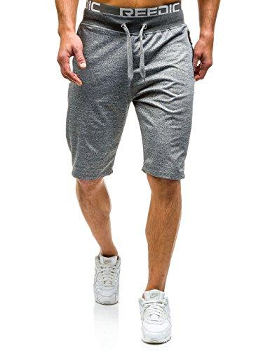 BOLF Herren Shorts Bermudas Kurzhose Sporthose Jogging Fitness 7G7 Motiv