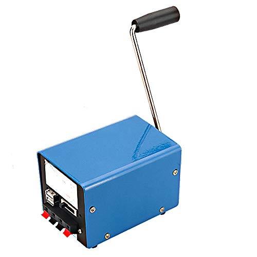 EYLIFE Handkurbel-Generator, Notladegerät für den Handy-Computer im Freien, der 20W / 0-15V mit USB-Stecker auflädt