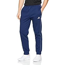 Adidas CORE18 SW PNT Pants, Hombre, (Azul/Blanco), 2XL