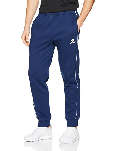 adidas Herren CORE18 SW PNT Sport Trousers, Dark Blue/White, L -