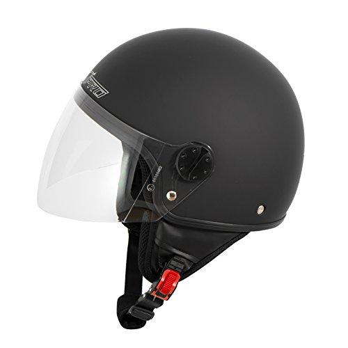 Zoom IMG-3 casco jet demi scooter moto