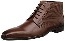 Alberto Torresi Mens Islay Tan Leather Boots - 10 UK/India (44 EU)