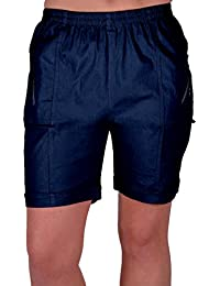 Eyecatch - Womens Relaxed Comfort Elasticized Flexi Stretch Ladies Shorts Plus Sizes