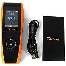 temtop lkc-1000e detector de calidad del aire monitor profesional con pm2,5/PM10precisa prueba