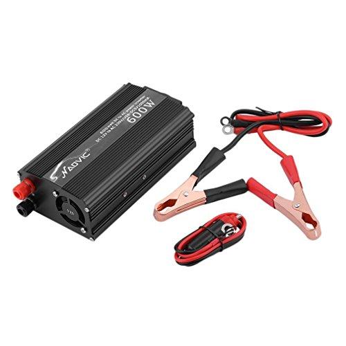 NAOVIC® Auto KFZ Stromwandler Power Inverter Wechselrichter DC12V AC 230V Anzünder (600W)