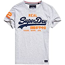 Superdry Herren T-Shirt Vintage Logo Duo