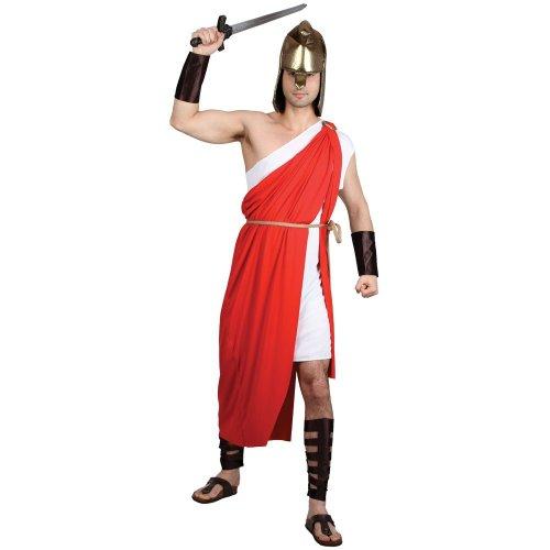 her Krieger Männer Verkleidung Halloween Fasching Kostüm XL (Griechenland Halloween-kostüm)