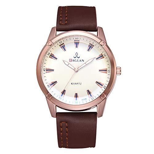 IG Invictus Mode Männer Quarzuhr Hochwertige Lederuhr Blu Ray Glas Armbanduhr Raglan XR3059 Herrenuhr mit Gürtel Männer Uhr