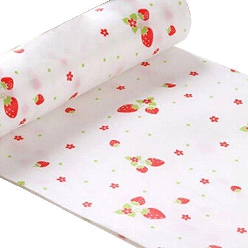 Rutschfeste Küche-Feuchtigkeits-Beweis-Matten-Schubladen-Speicher-Auflage-Antistaub-Matte, Erdbeere