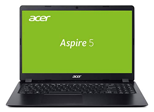 Acer Aspire 5 (A515-43-R6WW) 35,56 cn (15,6 Zoll Full-HD IPS) Multimedia Laptop (AMD Ryzen 5 3500U, 8 GB RAM, 1.000 GB PCIe SSD, Radeon Vega 8 Graphics, Win 10 Home) schwarz