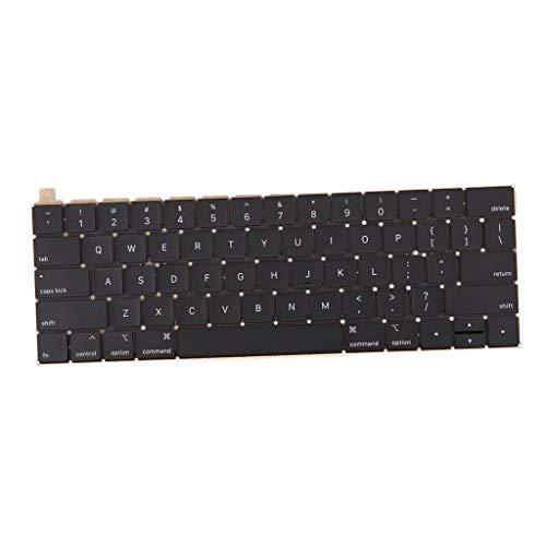 Unbekannt Laptop Ersatz Tastatur Backlit für MacBook Pro A1989 A1990, US Englisch Layout (Ersatz-schlüssel Für Macbook Pro)