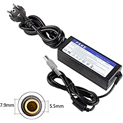 FSKE® 90W 20V 4.5A Alimentation Chargeur Ordinateur Portable pour Lenovo ThinkPad X230 T420 X220 Yoga 2 13 AC Adaptateur,T410 X201 Notebook EUR Power Supply,7.9 * 5.5mm
