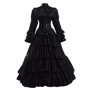 GRACEART Victoriano Gótico Disfraz de