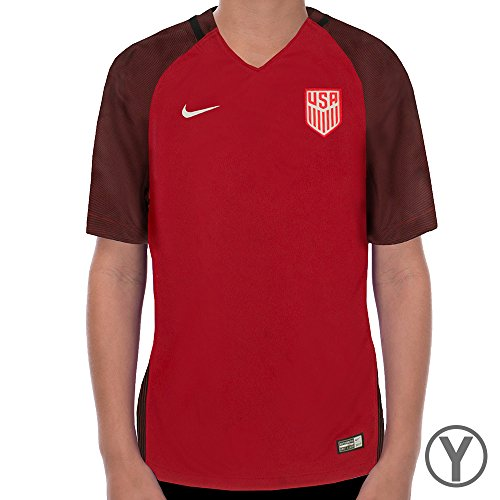 Nike Youth Dry USA Stadium Top [GYM RED] (S)