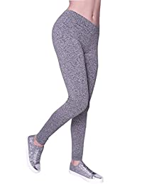 Damen Sport Leggings Thermo Tight Laufhose Blickdicht Innenfleece Warme Leggins Jogginghose Winter