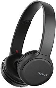 Sony WH-CH510 bezprzewodowe słuchawki Bluetooth (mocny dźwięk, wbudowany asystent mowy, Quick Charge, czas pra