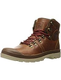 fdff767e Palladium Men's Pallabrouse Hikr Chukka Boot, Sunrise/Red/Safari, 7 M US