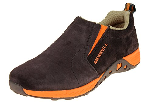 Merrell - Jungle Moc Sport Baby Jungen, Braun (braun/orange), 20 EU M Großes Art - Junge Schuhe Merrell
