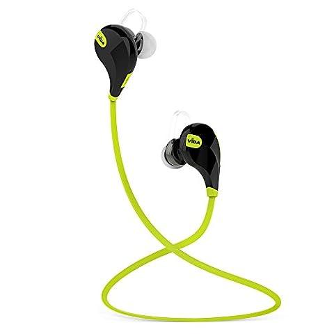 Vida IT Sport Oreillette Bluetooth 4.0 Casque avec aptX® Pour BlackBerry Pearl 8110 Pearl 8130 Storm3 Curve 8300 Portable Tablette PC écouteurs de Sport Avec Contrôle du Volume