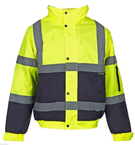 fast-fashion-2-deux-tons-hi-viz-bombardier-manteau-reflechissante-veste-vetements-de-travail-rembour