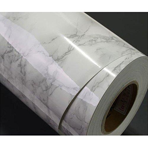 Grey Granite Look Marble Effect Film Vinyl Self Adhesive Peel-stick Counter Top (Peel-stick Vinyl)
