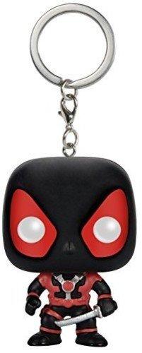 FunKo 7512 Schlüsselanhänger Figur Marvel Black Deadpool