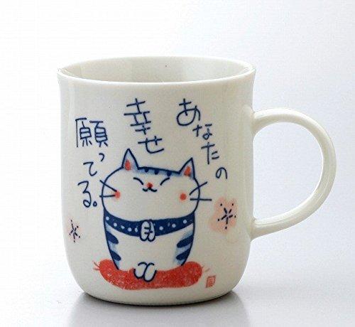K7134 Chat Motif Matsumoto En Toki Poterie Mug kuilXOwPZT