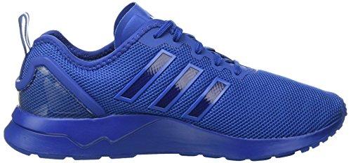 adidas Zx Flux Adv, Gymnastique homme Blanc Cassé - Bianco (Eqt Blue S16/Eqt Blue S16/Eqt Blue S16)