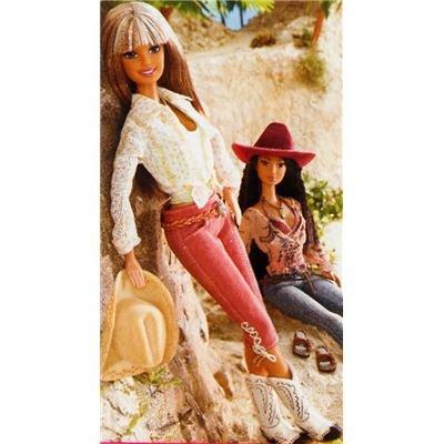 H2233 - California Girl Reiterin Barbie -