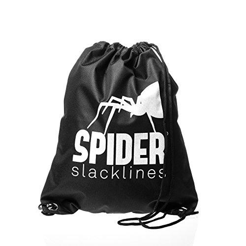 Spider 16031Kit Slackline, schwarz, 30m - 12