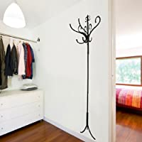 Walplus Real Coat Hooks Wall Art Decals Home Decoration DIY Living Bedroom Office Décor