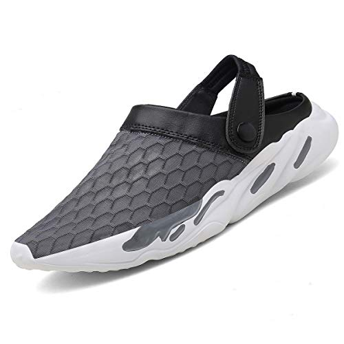 Hombre Mujeres Zapatillas,Antideslizante Zuecos Sandalias Unisex Zapatillas de Playa Deportes Respirable...