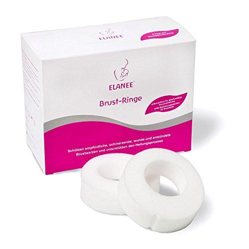 ELANEE 222-00 Brust-Ringe, 10 Stück
