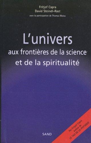 LUnivers aux frontières de la science et de la spiritualité