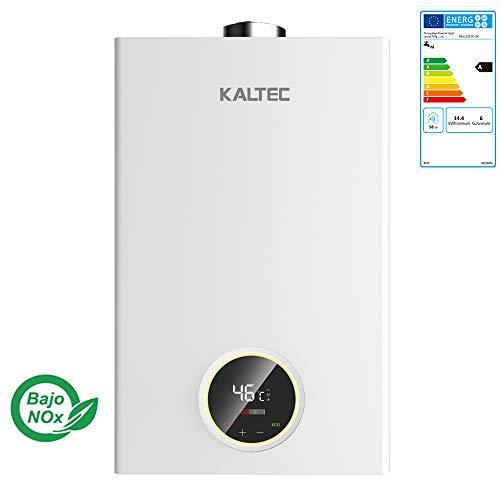 KALTEC KCE-11B Wasserheizer Butan/Protane Gas Wasserkocher Automatischer LED Digital Durchlauferhitzer Propan 11 l [Energieeffizienzklasse A]